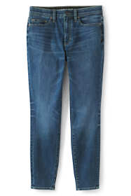 Women's Slimming Compression High Rise Skinny Jeans - Blue