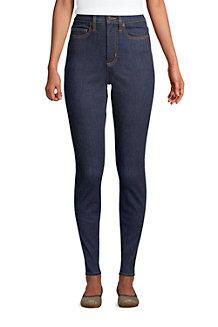 Women's Slimming Jeans, High Waisted Skinny Leg, Indigo