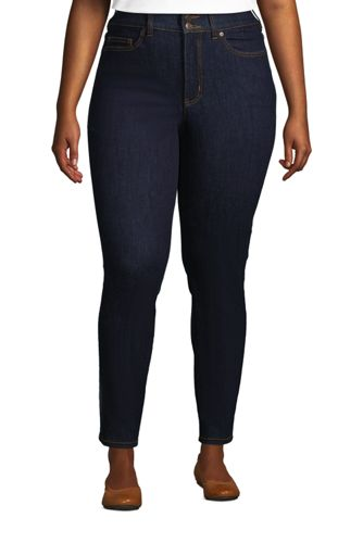 Shaping Jeans, Skinny Fit High Waist für Damen in Plus-Größe