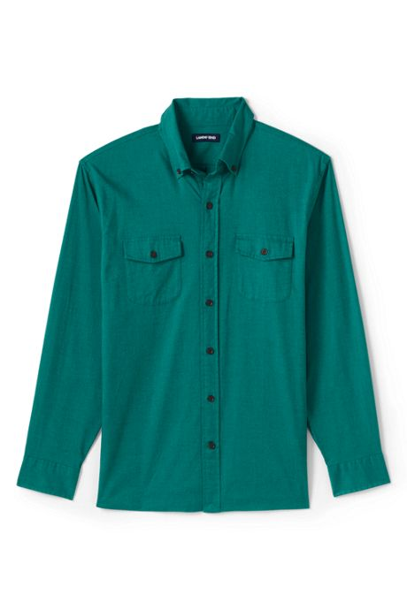 Men's Tall Traditional Fit Comfort-First Lightweight Flannel Shirt