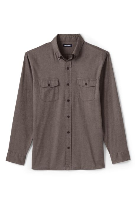 Men's Traditional Fit Comfort-First Lightweight Flannel Shirt