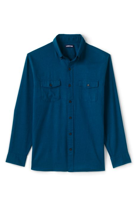 Men's Traditional Fit All Season Flannel Shirt