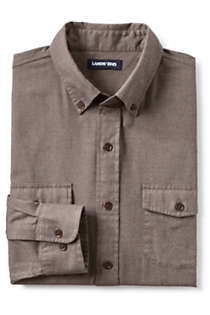 Men's Tall Traditional Fit Comfort-First Lightweight Flannel Shirt, Front