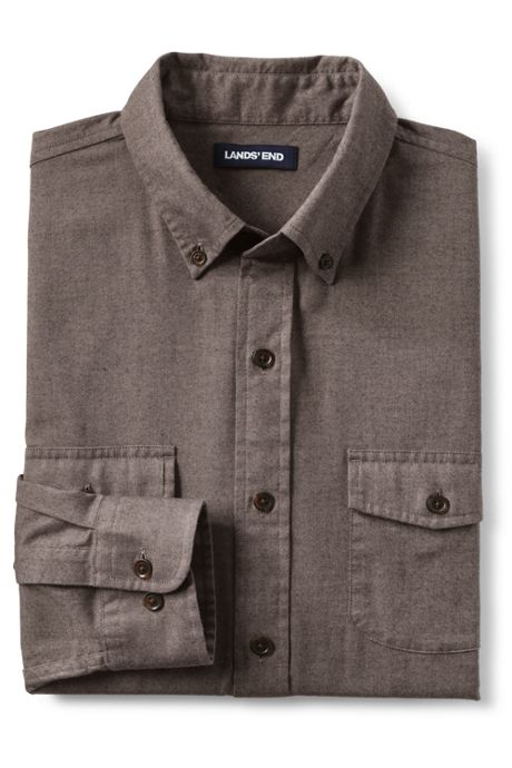 Men's Big and Tall Traditional Fit All Season Flannel Shirt