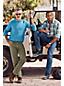 Farbige Denim-Jeans mit Stretch für Herren, Straight Fit