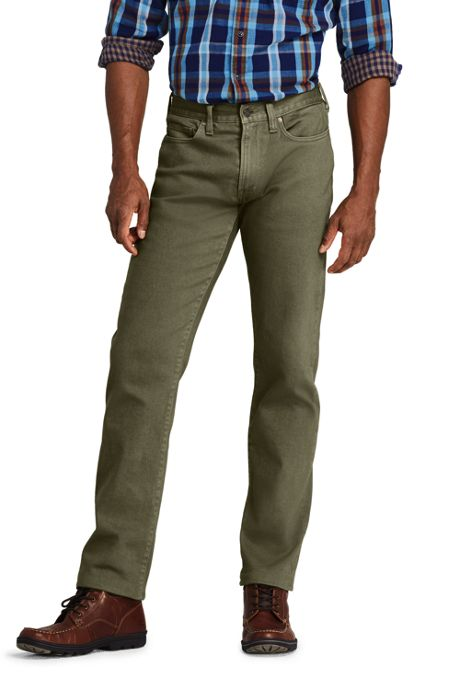 Men's Straight Fit Comfort-First Colored Jeans