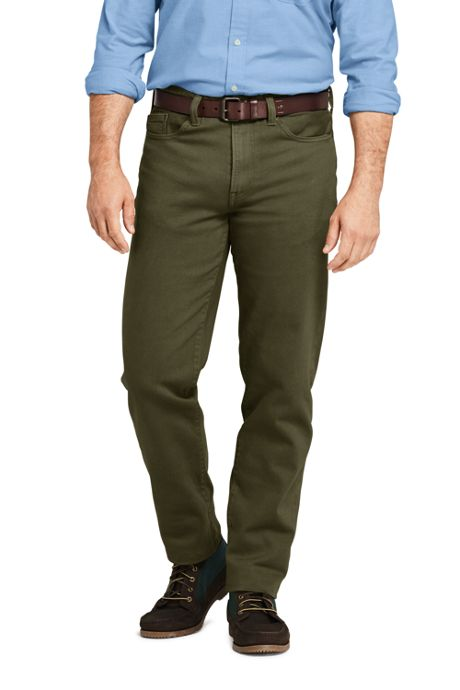 Men's Comfort Waist Traditional Fit Comfort-First Colored Jeans
