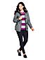Women's Petite Heathered Squall Hooded Waterproof Jacket