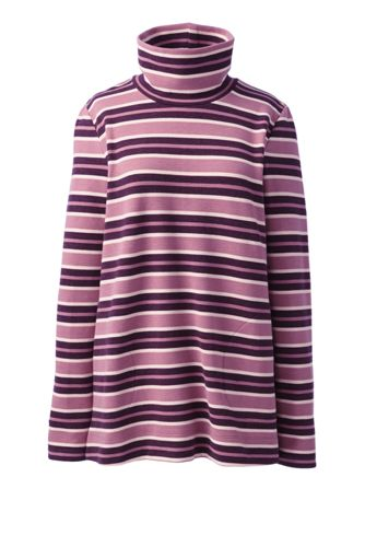 Pull Long Rayé Maille Ottoman, Femme Stature Petite