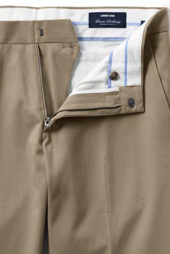 Men's Slim Fit No Iron Twill Dress Pants