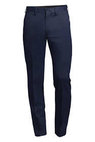 Men's Slim Fit No Iron Twill Dress Pants