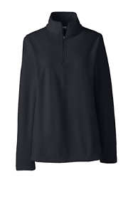 School Uniform Women's Thermacheck 100 Fleece Quarter Zip Pullover Top