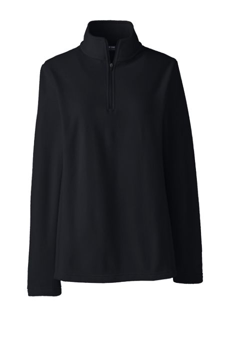 School Uniform Women's Plus Thermacheck 100 Fleece Half Zip