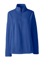 Women's Plus Size Thermacheck 100 Fleece Quarter Zip Pullover Top