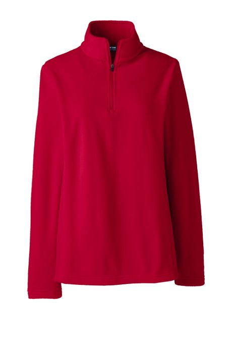 Women's Thermacheck 100 Embroidered Fleece Quarter Zip Pullover Top