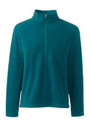Men's Big Thermacheck 100 Fleece Quarter Zip Pullover Top