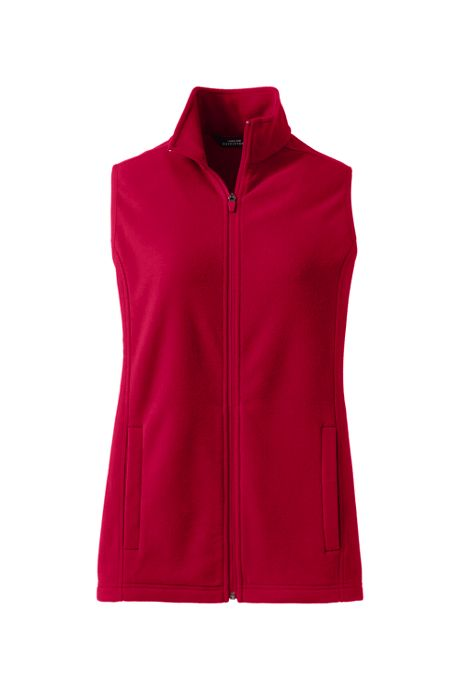 School Uniform Women's Plus Size Thermacheck 100 Fleece Vest
