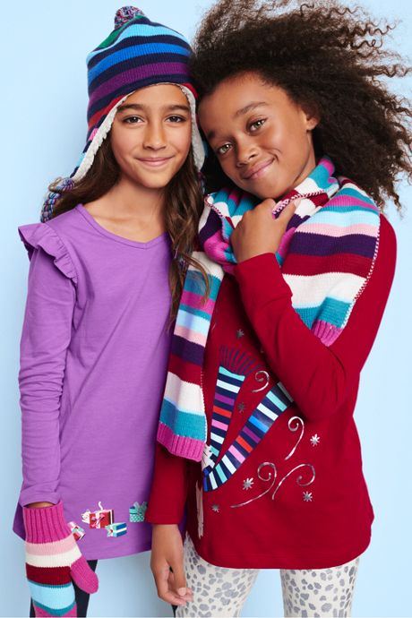 Kids Knit Scarf