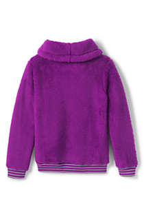 Girls Plus Size Fuzzy Sweatshirt, Back