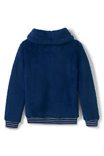 Little Girls Fuzzy Sweatshirt, Back
