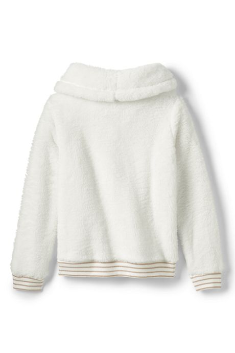 Girls Plus Size Fuzzy Sweatshirt