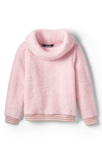 Sweatshirt en Polaire Peluchée, Petite Fille