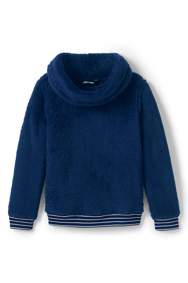 Little Girls Fuzzy Sweatshirt, Front