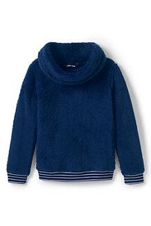 Sweatshirt en Polaire Peluchée, Fille