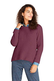 Women's Chenille Ribbed Jumper