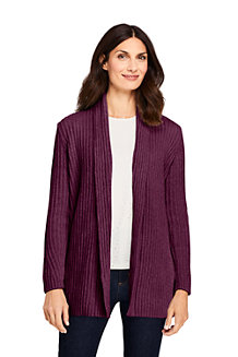 Women's Chenille Open Cardigan