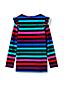 Girls' Pattern Ruffle Shoulder Tunic Top