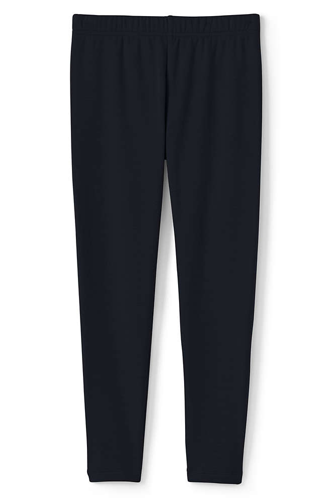 Girls Fleece Lined Leggings, Front
