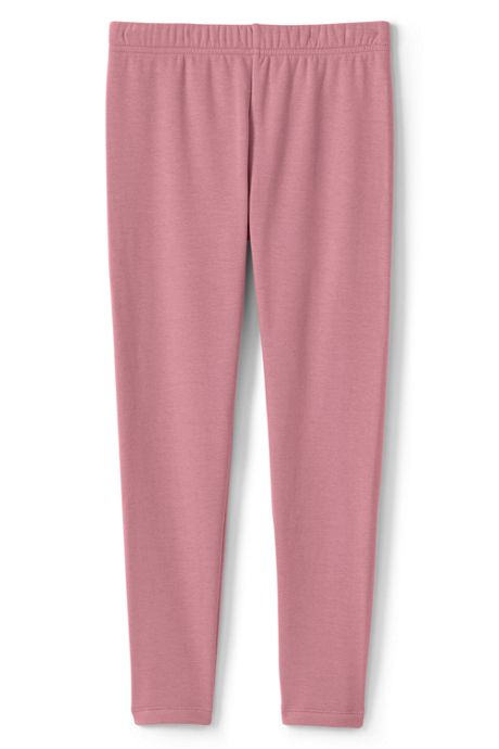 Girls Plus Size Fleece Lined Leggings