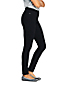Women's High Waisted Pull-on Legging Jeans, Black