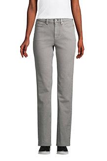 Straight Fit Öko Jeans High Waist für Damen