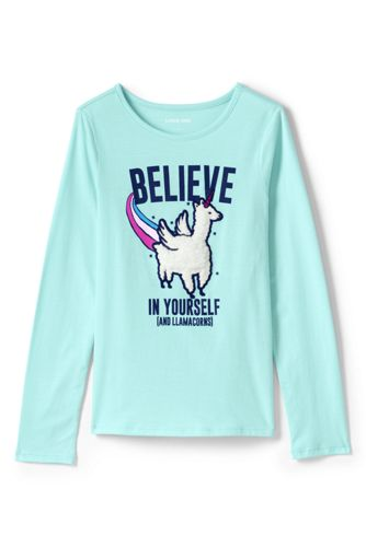 Little Girls' Long Sleeve Graphic T-shirt