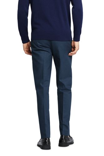 Men's Tailored Fit Plain Front No Iron Chino Pant