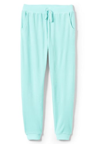 Pantalon de Jogging en Velours Iron Knees, Fille