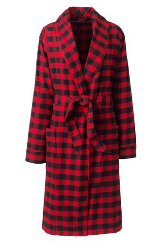 Robe de Chambre en Flanelle, Femme Stature Standard
