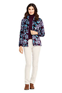 Women's Tall Print Softest Fleece Jacket, alternative image