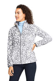 Women's Petite Print Softest Fleece Jacket