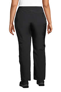 Women's Plus Size Squall Insulated Winter Snow Pants, Back