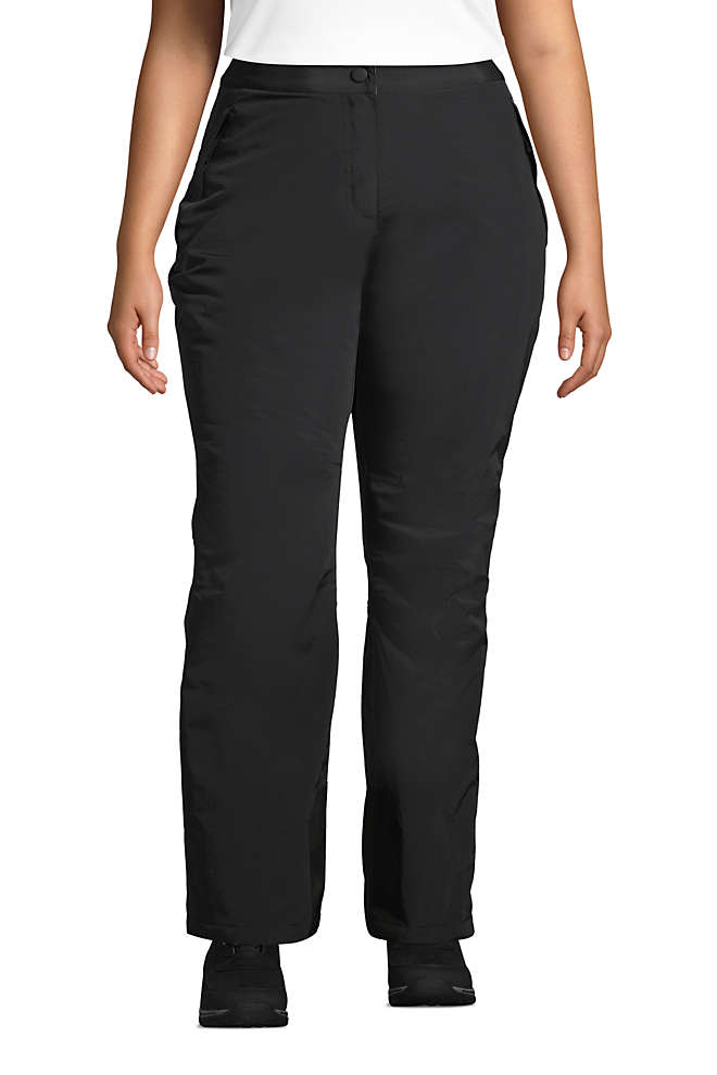 Women's Plus Size Squall Insulated Winter Snow Pants, Front