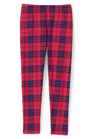 Girls Plus Size Fleece Lined Pattern Leggings