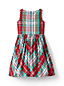 Little Girls' Plaid Taffeta Party Dress
