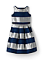 Little Girls' Sparkle Stripe Party Dress