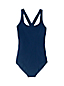 Women's Chlorine Resistant Scoop Neck  Athletic Swimsuit