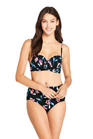Women's D-Cup Underwire Bikini Top Swimsuit Print