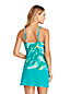 Women's Beach Living Chlorine Resistant Tankini Top, Pattern