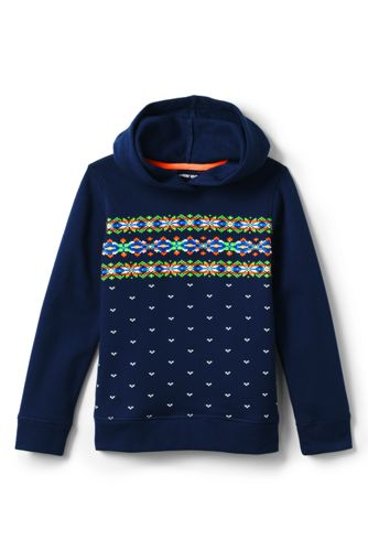 Boys' Graphic Hoodie